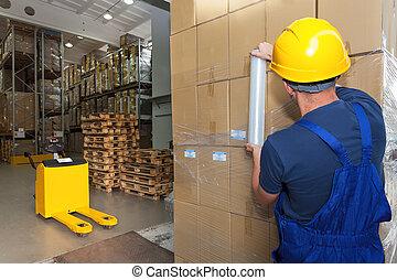Storage work