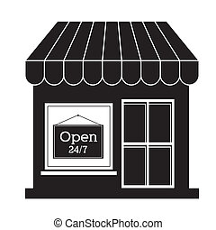 store design over white background vector illustration