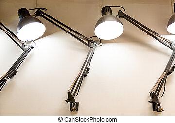 store., lamp, meubel, tafel, foto