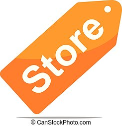 Store Logo Design Template Vector