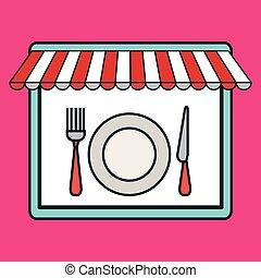 store market shop icon