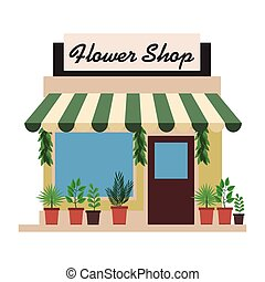 Store shop building