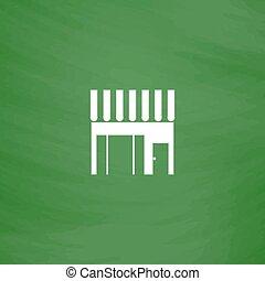 Store shop icon