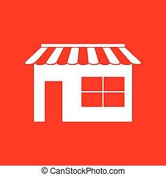 Store sign illustration