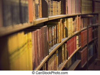 store with antique books