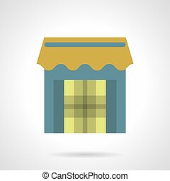 Store Front With Awning Colors Store Shop Front Various