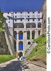 storey bridge - Cesky Krumlov - Czech Republic