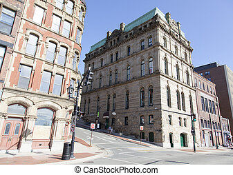 storico, architettura, canadese
