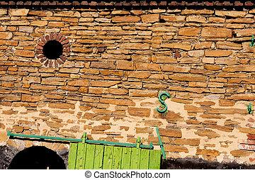 storico, muro pietra