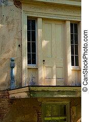 storico, porta, 2