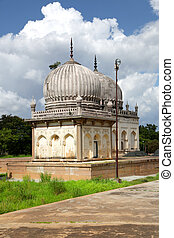 storico, qutbshahi, tombe, in, hyderabad