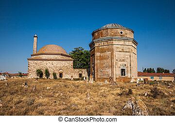 storico, tomba, da, ottomano, era
