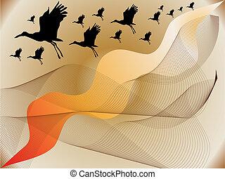 stork-vector-silhouette