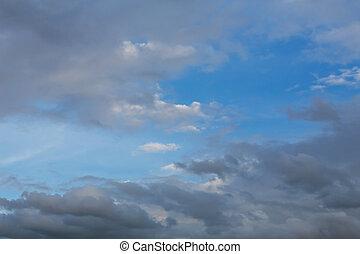 dramatic moody sky - storm cloud, dramatic moody sky