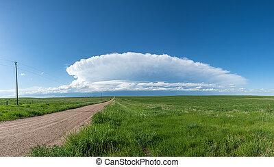 Storm Cloud Formation