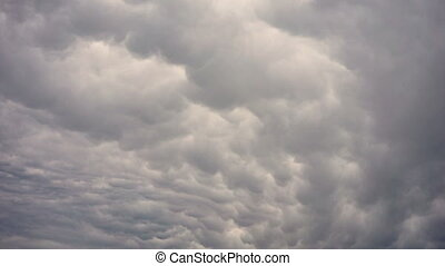Storm Clouds Over Yellowstone National Park - Clouds appear...