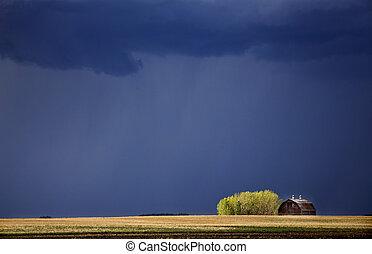 Storm Clouds Saskatchewan ominous skies and warnings