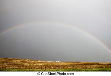 Storm Clouds Saskatchewan Rainbow - Storm Clouds ...