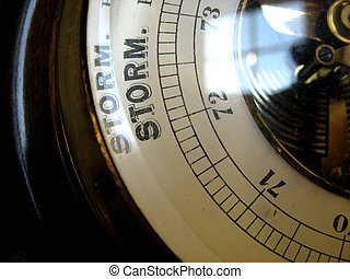 Storm coming in - full control with a barometer