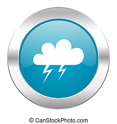 storm internet blue icon