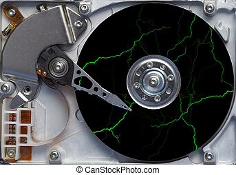 storm on the hard disc - fault - failure