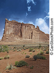 Storm over Monument Valley, U.S.A.