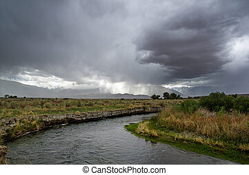 Storm Over Owens Valley