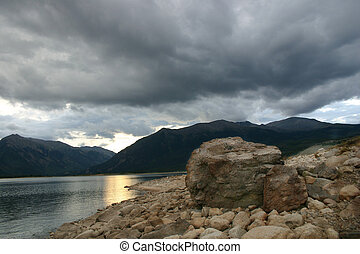 Storm Over Twin Lakes