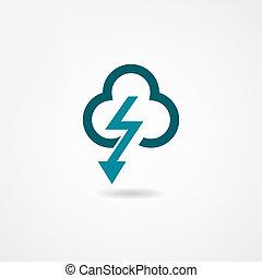 storm, pictogram