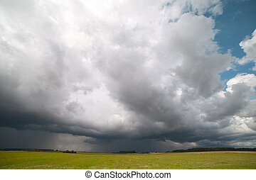 Stormy cloud.