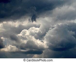 stormy clouds - dark stormy clouds