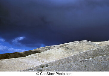 Stormy Clouds - Stormy clouds in Death Valley, California