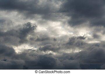 Stormy Dark Clouds