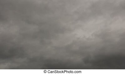 Stormy Grey Sky Time Lapse High Definition