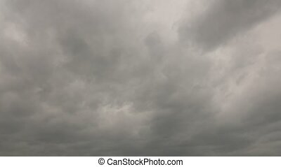 Stormy Grey Sky Time Lapse High Definition - High definition...