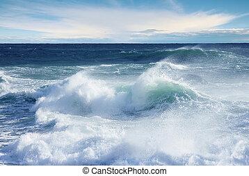 Stormy Ocean Wave