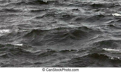 stormy sea, background,  LOOP FILE