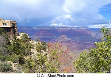 Stormy Skies Over the Grand Canyon