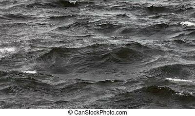 stormy sea, background,  LOOP FILE