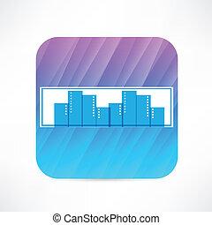 storstad, ikon
