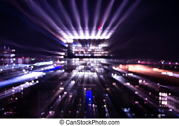 storstad, lyse