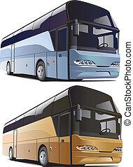 stort, buss
