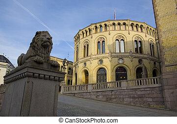 stortinget, noruega, oslo, (parliament)