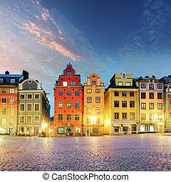 stortorget, -, 地方, 斯德哥尔摩, stan, gamla