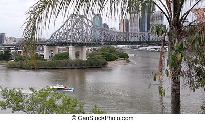 Story Bridge 5 - The iconic Story Bridge spanning the...