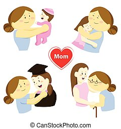 Story of love about mother and her daughter
