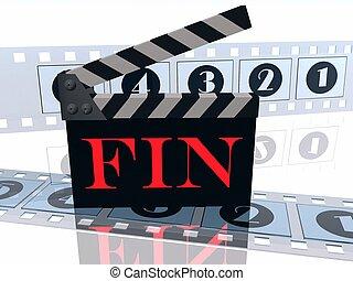 storyboard, fin