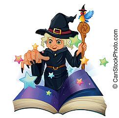 storybook, について, 黒, 魔女