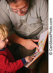 Storytime - family reading together