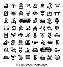 stosowność, cielna, komplet, ikony
